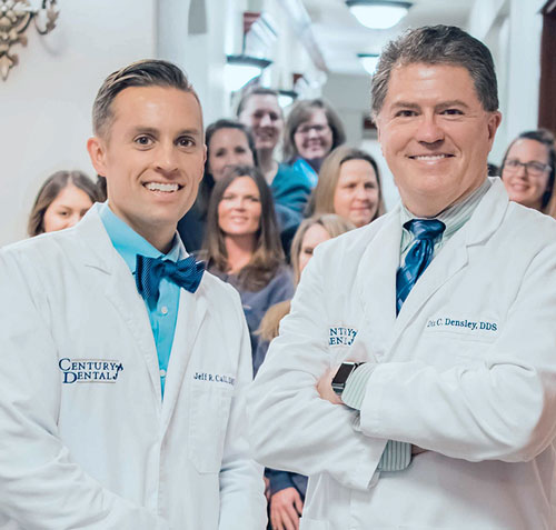Dr. Jefferson Call, DMD and Dr. Dix Densley, DDS of Century Dental